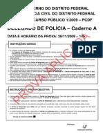 2009 - Prova Dpc Df
