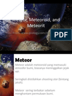 26.Meteor, Meteoroid, And Meteorit (Indonesian)