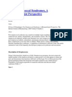 Post Streptococcal Syndromescautoimun'