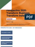Mckinsey Perspective 2020 Presentation