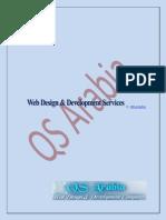 Web Design & Development Services by QS Arabia