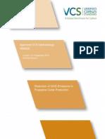 VM0023 Reduction of GHG Emissions in Propylene Oxide Production 9 SEP 2013