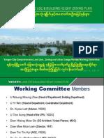 Yangon Land Use & Building Height Zoning Plan1