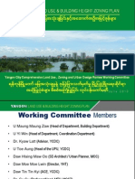Yangon Land Use & Building Height Zoning Plan1