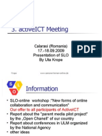 3. ActiveICT Meeting