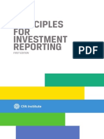 Principles for Investment Reporting