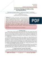 A Comparison Of Smart Routings In Mobile Ad Hoc  Networks(MANETs)