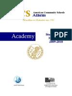 Parent-Student Handbook 2009