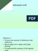 Abdominal Wall & Peritoneum