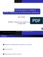 Calcul Stochastique Finance 07 L2