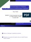 Calcul Stochastique Finance 07 L3