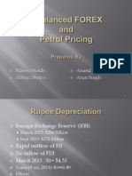 Petrol Pricing and forex
