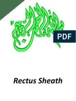 Rectus Sheath