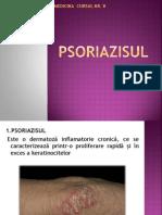 c 8 Psoriazisul