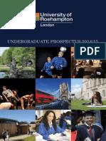 Undergraduate Prospectus 2014
