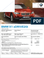 BMW X1 sDrive20i Malaysia (Dec 2013 onwards)