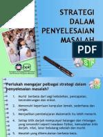 196598461 Slide 07 Pelbagai Strategi Dalam Penyelesaian Masalah