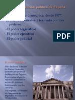 La organización política de España