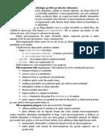 Microbiologia Specifica Produselor Alimentare