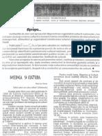Revista Forum cultural,  anul I, nr. 1, mai 2001, (1)