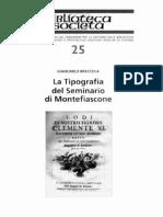 Tipografia Del Seminario di Montefiascone