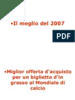 Migliori 2007
