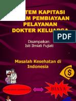 Fm - k14 (Sistem Pembiayaan Dalam Praktek Dokter Keluarga)