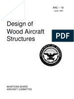 ANC-18 - Design of Wood Aircraft Structures