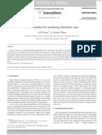 A New Method for Producing Bimetallic Rods