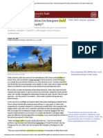 Do Crop Intensification Techniques Hold the Key to Food Security_ _ Global Development Professionals Network _ Guardian Professional