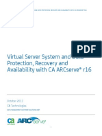 CA Arcserve Family r16 Virtual Server System and Data Protection