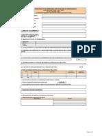Formato de Ficha Técnica de PIP de Emergencia 2009