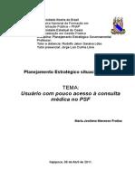 Planejamento Estratégico situacional (PES)