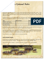 Rank and File Optional Rules Supplement 3