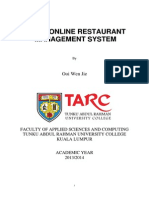 OoiWenJieAIA201314F Online Restaurant Management System