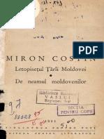 CostinMiron-LetopisetulTariiMoldovei