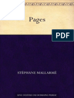 Stephane Mallarme, Pages