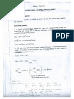 chemistry basic radical analysis
