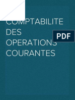 Comptabilite Des Operations Courantes