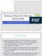 Female Pelvic Organ Prolapse