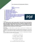 Tipos Aplicaciones Conexiones Transformadores Trifasicos