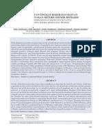 Dokumen 474 Volume 12 Nomor 3 Desember 2011 Penentuan Tingkat Kekerasan Batuan Menggunakan Metode Seismik Refraksi
