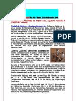 BOLETÍN COPACI No. 194 - MARTES, 22 DE DICIEMBRE 2009.