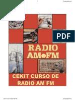 Cekit Curso de Radio Am Fm