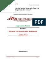 Informe Medio Ambiente Junio-2013