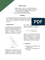 Informe (Lab 1) Péndulo Físico (1)