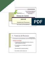 Aula 09 - Variáveis de Processos