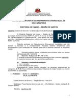Edital_de_abertura de Cadastro Emergencial 2013_ii