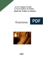 Exercicios Mini Curso de Biblia Comunida Todos Os Santos