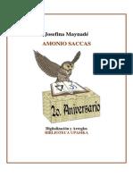 Amonio Saccas - biografía